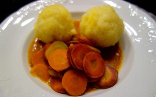 vegane Kartoffelknödel