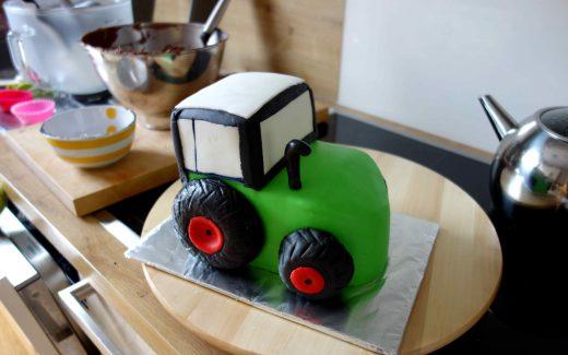 Motivtorte Traktor
