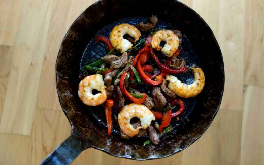 Fajita Surf and Turf
