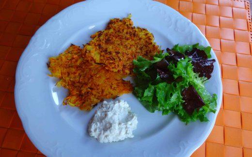 Karotten-Kartoffel-Küchlein