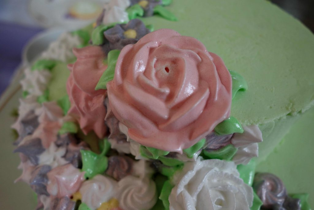 Rose aus Baiser