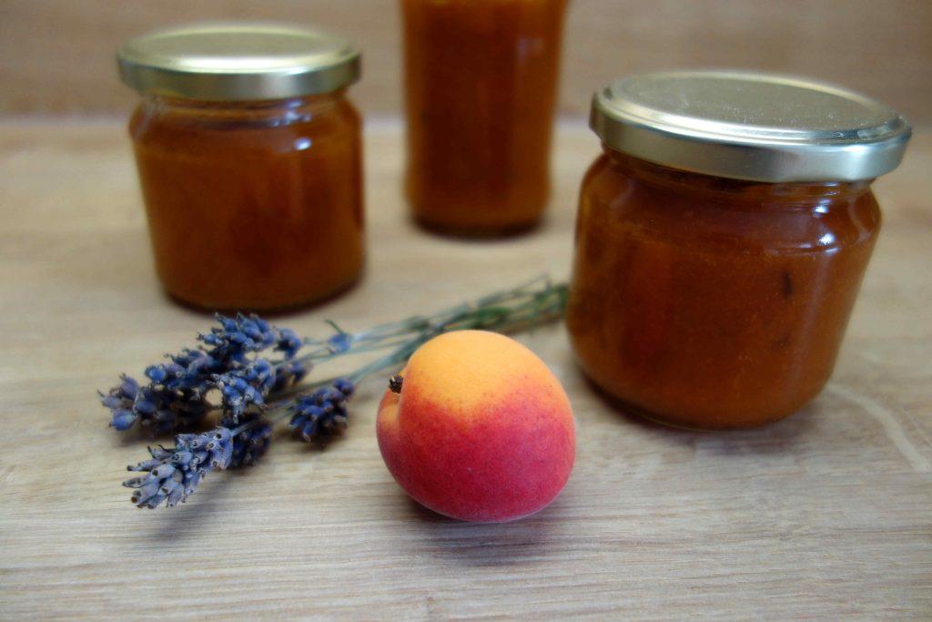dreierlei Aprikosenkonfitüren