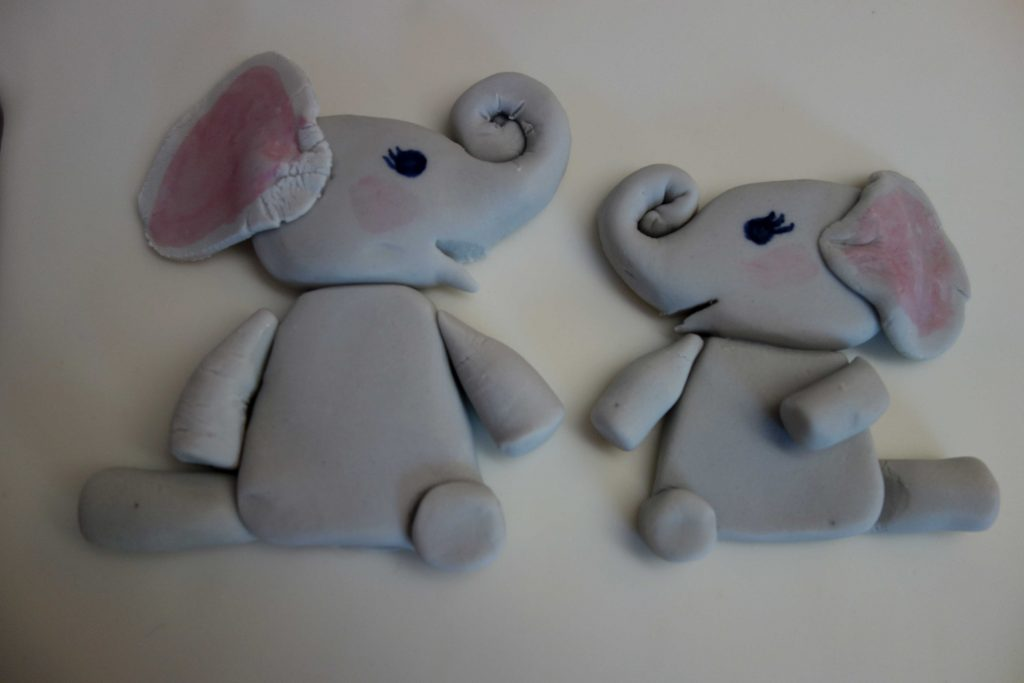Elefanten aus Fondant
