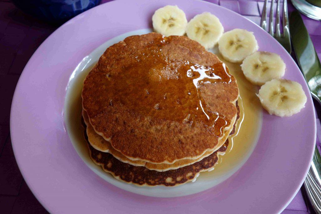 vegane Vanillepancakes