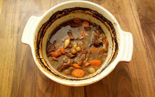 Gulasch aus dem Ofen, beef casserole