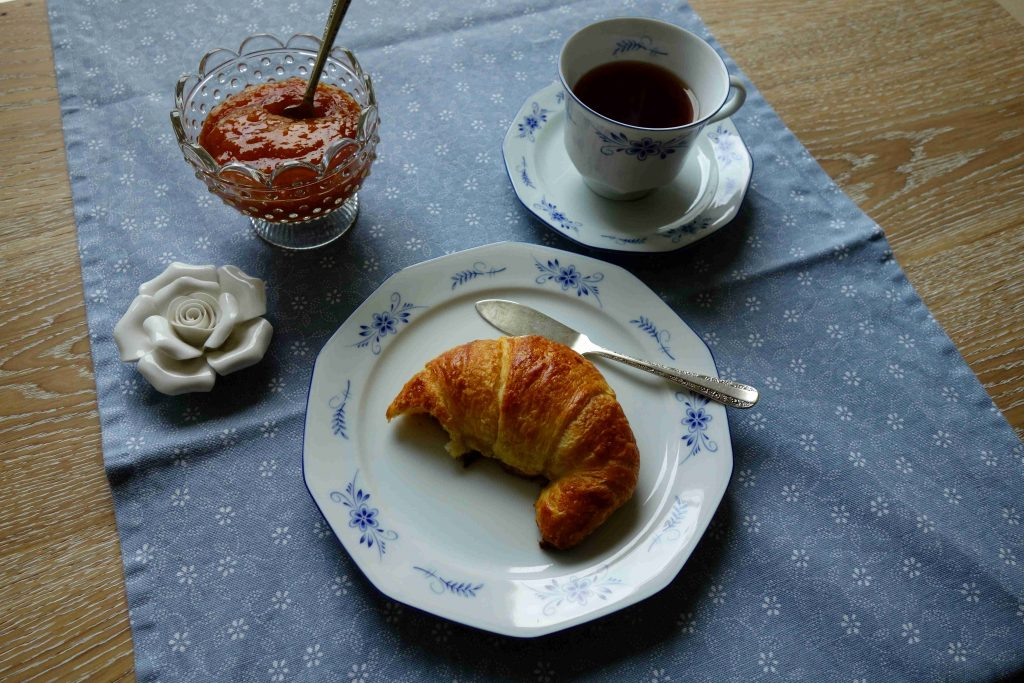 French Croissants Made From Spelt Flour