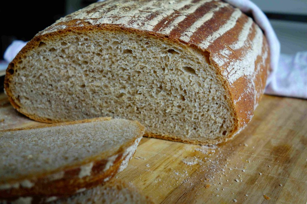 Rustic Cottage Loaf With Spelt And Emmer