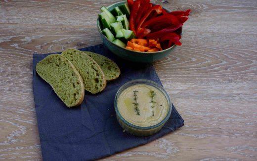 veganer Ofenkäse, vegan baked cheese