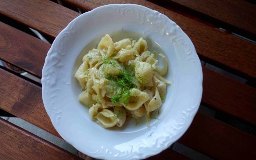 cremige Fenchelpasta, creamy fennel pasta