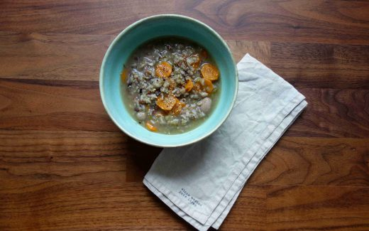 Gemüsesuppe mit Wildreis, Wild Rice And Veggie Soup