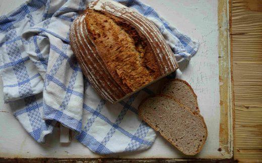 Rustic Spelt Bread